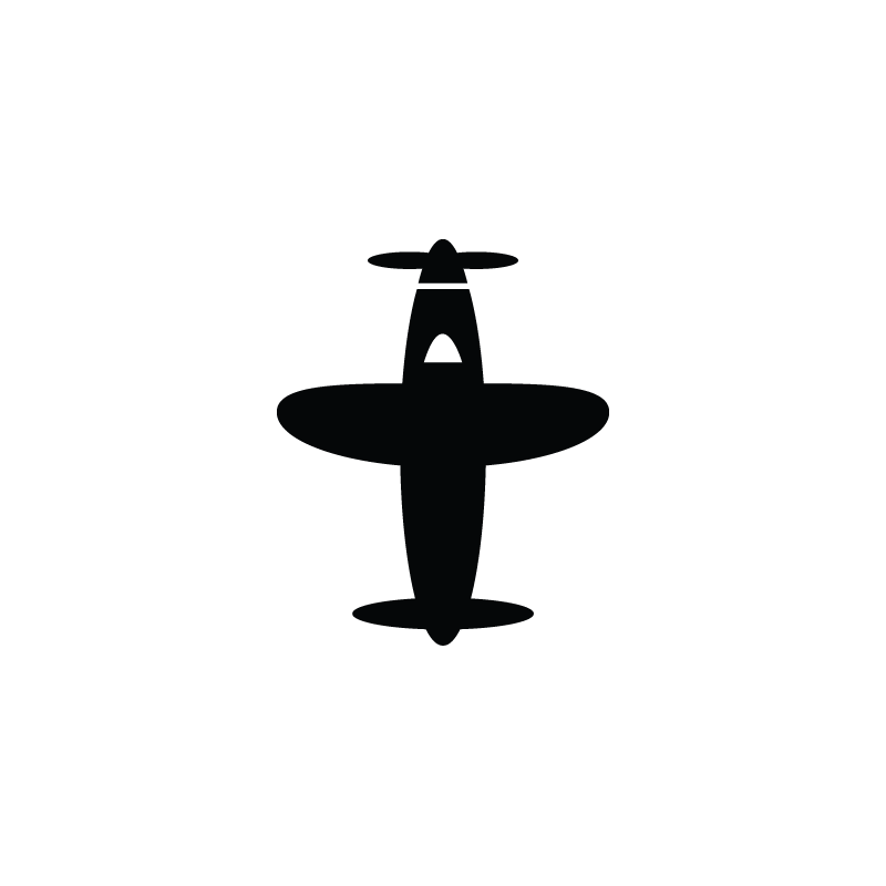 Aeroplane, airplane, aircraft, airport, flight icon