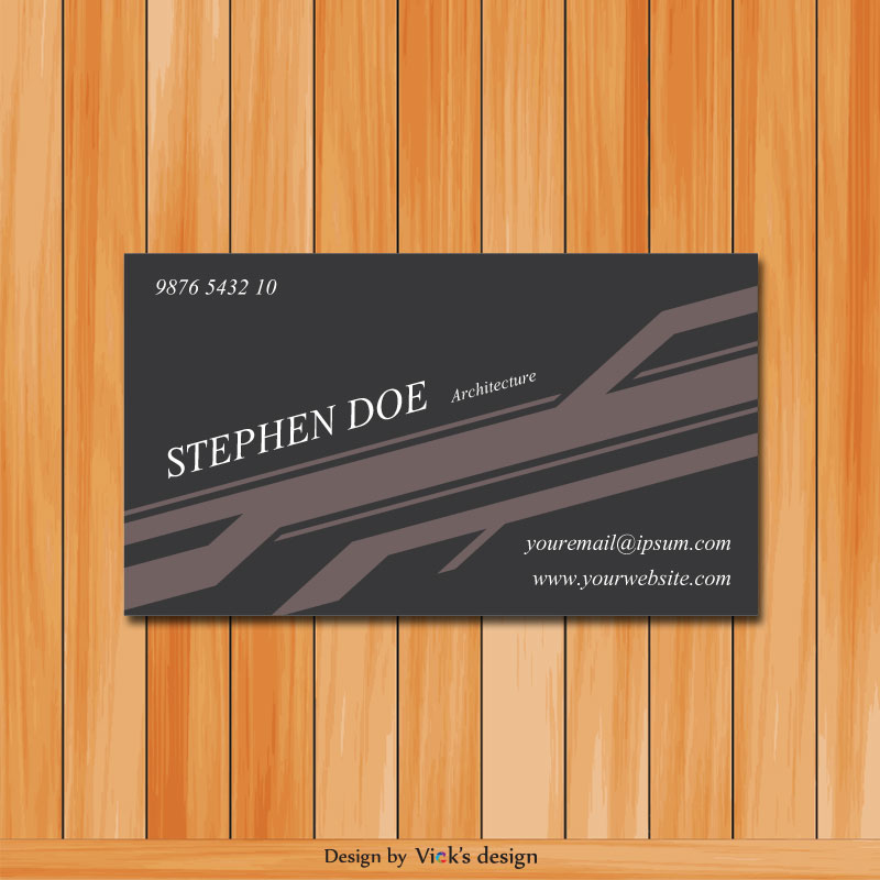 Architecture grey theme business card vector architecture grey theme business card reheart Images