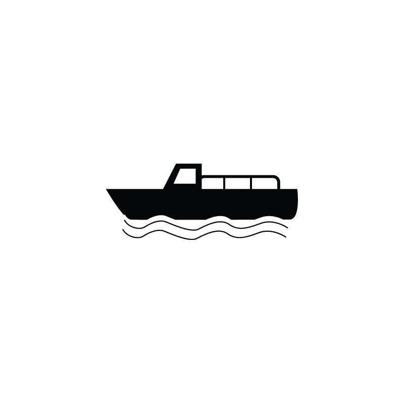 Boat, motor boat, cargo, delivery, logistics, ship icon