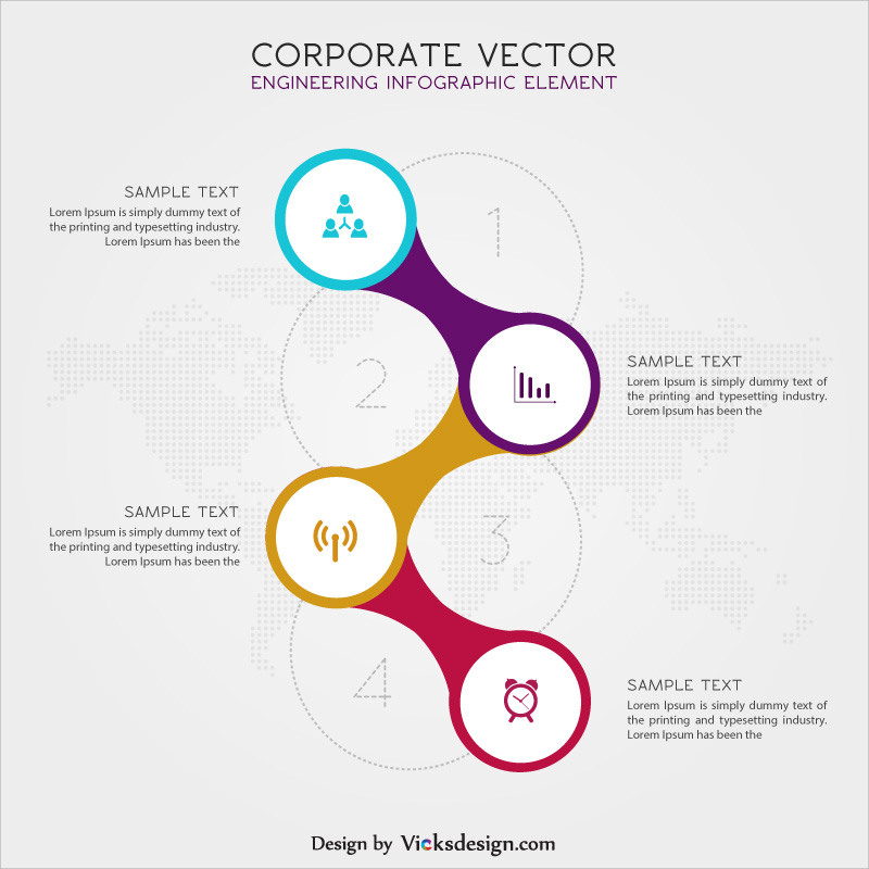 Corporate timeline infographic vector, business success timeline, market growth timeline vector graphics