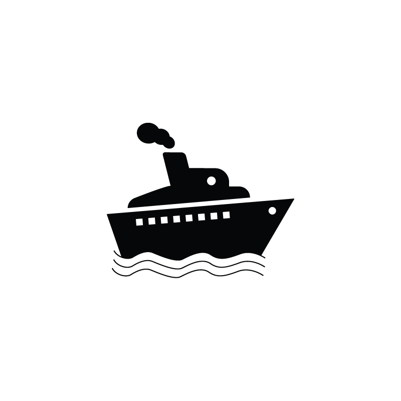 Ship, cruise, cargo, vessel, yacht icon
